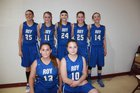 Roy/Mosquero  Girls Varsity Basketball Winter 17-18 team photo.