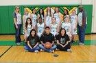 Rolla Pirates Girls Varsity Basketball Winter 17-18 team photo.