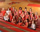 Freedom Patriots Girls Varsity Basketball Winter 17-18 team photo.