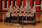 West Valley Eagles Girls Varsity Basketball Winter 17-18 team photo.