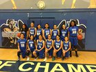 Chula Vista Spartans Girls Varsity Basketball Winter 17-18 team photo.