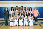 Cedarville Pirates Girls Varsity Basketball Winter 17-18 team photo.