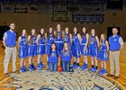 Colton Wildcats Girls Varsity Basketball Winter 17-18 team photo.