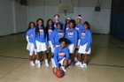 Central Cougars Girls Varsity Basketball Winter 17-18 team photo.