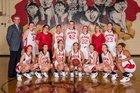 Olean Huskies Girls Varsity Basketball Winter 17-18 team photo.