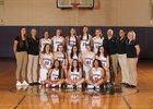 North Kitsap Vikings Girls Varsity Basketball Winter 17-18 team photo.