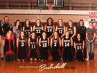 Rawlins County Buffaloes Girls Varsity Basketball Winter 17-18 team photo.