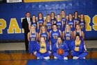 Paxton-Buckley-Loda Panthers Girls Varsity Basketball Winter 17-18 team photo.