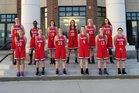 Providence Hall Patriots Girls Varsity Basketball Winter 17-18 team photo.