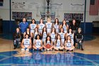 Cotter Warriors Girls Varsity Basketball Winter 17-18 team photo.