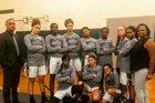Bruton Panthers Girls Varsity Basketball Winter 17-18 team photo.