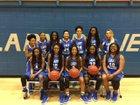Monticello Billies Girls Varsity Basketball Winter 17-18 team photo.
