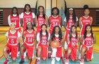 Kenwood Broncos Girls Varsity Basketball Winter 17-18 team photo.