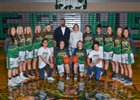 Emerald Ridge Jaguars Girls Varsity Basketball Winter 17-18 team photo.