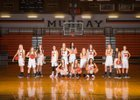 Murray Spartans Girls Varsity Basketball Winter 17-18 team photo.