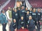 Estill Fighting Gators Girls Varsity Basketball Winter 17-18 team photo.