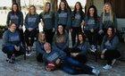 Bowie Jackrabbits Girls Varsity Basketball Winter 17-18 team photo.