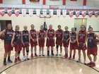 Heber Springs Panthers Girls Varsity Basketball Winter 17-18 team photo.