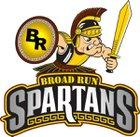 Broad Run Spartans Girls Varsity Basketball Winter 17-18 team photo.