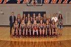 Grainger Grizzlies Girls Varsity Basketball Winter 17-18 team photo.