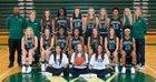 Wesleyan Wolves Girls Varsity Basketball Winter 17-18 team photo.