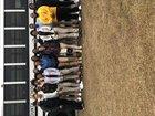 Riverside Knights Girls Varsity Basketball Winter 17-18 team photo.