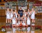 Gridley Bulldogs Girls Varsity Basketball Winter 17-18 team photo.