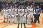 Summertown Eagles Girls Varsity Basketball Winter 17-18 team photo.
