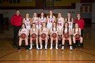 Sparta Spartans Girls Varsity Basketball Winter 17-18 team photo.