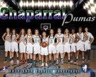 Chaparral Pumas Girls Varsity Basketball Winter 17-18 team photo.