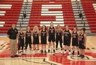Eureka Springs Highlanders Girls Varsity Basketball Winter 17-18 team photo.