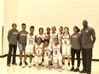Orange Vista Coyotes Girls Varsity Basketball Winter 17-18 team photo.