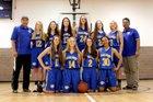 Christian Life Academy Eagles Girls Varsity Basketball Winter 17-18 team photo.