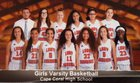 Cape Coral Seahawks Girls Varsity Basketball Winter 17-18 team photo.