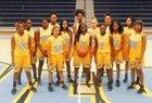 Putnam City West Patriots Girls Varsity Basketball Winter 17-18 team photo.