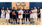 Pueblo Warriors Girls Varsity Basketball Winter 17-18 team photo.