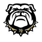 North Forest Bulldogs Girls Varsity Basketball Winter 17-18 team photo.