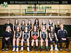 Rowland Hall-St. Marks Winged Lions Girls Varsity Basketball Winter 17-18 team photo.