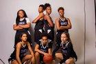 DME Sports Academy  Girls Varsity Basketball Winter 17-18 team photo.
