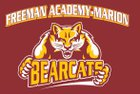 Freeman Academy/Marion  Girls Varsity Basketball Winter 17-18 team photo.