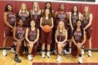 Cy-Fair Bobcats Girls Varsity Basketball Winter 17-18 team photo.