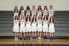Pullman Greyhounds Girls Varsity Basketball Winter 17-18 team photo.
