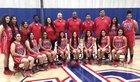 Glenn Eagles Girls Varsity Basketball Winter 17-18 team photo.