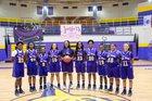 Port St. Joe Sharks Girls Varsity Basketball Winter 17-18 team photo.