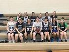 Yuma Catholic Shamrocks Girls Varsity Basketball Winter 17-18 team photo.