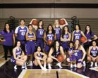 Righetti Warriors Girls Varsity Basketball Winter 17-18 team photo.