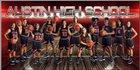 Fort Bend Austin Bulldogs Girls Varsity Basketball Winter 17-18 team photo.