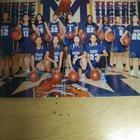 Morse Tigers Girls Varsity Basketball Winter 17-18 team photo.