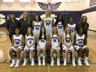 Northern Guilford Nighthawks Girls Varsity Basketball Winter 17-18 team photo.