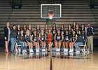 El Reno Indians Girls Varsity Basketball Winter 17-18 team photo.